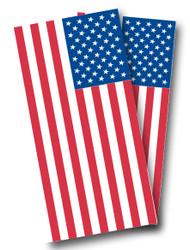 American Flag (Plain) Cornhole Wraps