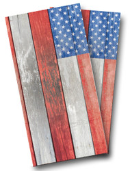 Distressed American Flag Cornhole Wraps