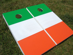 Irish Flag Cornhole Set with Bags