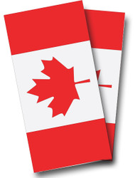 Canadian Flag Cornhole Wraps