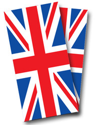 British Flag Cornhole Wraps