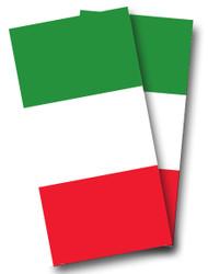 Italian Flag Cornhole Wraps