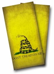 Gadsden Flag Cornhole Wraps