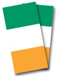 Irish Flag Cornhole Wraps