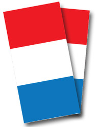French Flag Cornhole Wraps