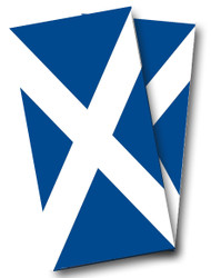 Scottish Flag Cornhole Wraps