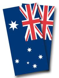 Australian Flag Cornhole Wraps
