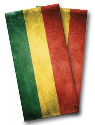 Rasta Flag Cornhole Wraps