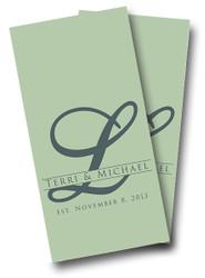 Wedding Letter Cornhole Wraps