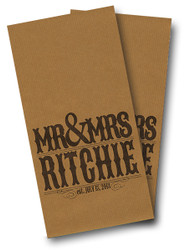 Wedding Mr and Mrs Cornhole Wraps