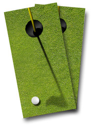 Golf Hole Cornhole Wraps