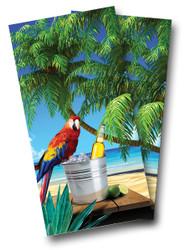 Parrot Cornhole Wraps