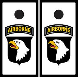 101st Airborne Cornhole Wraps