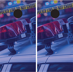 Police Cornhole Wraps