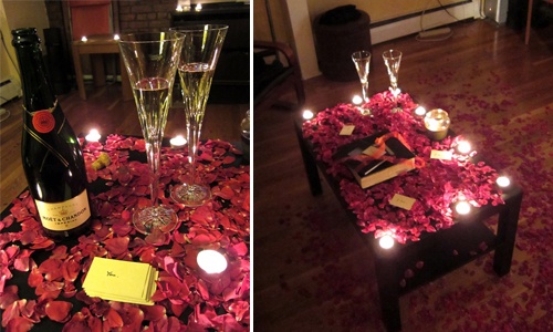 ... Around The Room For A Sultry Ambience. Try To Have Enough So That, When  You Turn The Lights Out, Youu0027ll Have A Dramatic, Luminous Dinner By  Candlelight.