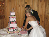 2005 Carlene & Richard Cut the Cake