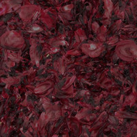 Dark Red-Black Preserved Freeze Dried Peony Petals