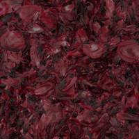 Dark Red-Black Preserved Freeze Dried Peony Petals