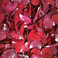 """BB"" Red Presreved Freeze Dried Petals"