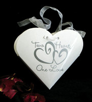 New! Two Hearts Petal Boxes-24pcs