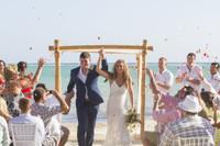 Paige & Kory's wedding toss -2