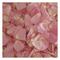 Bridal Pink Rose Petals - 30 cups Preserved Freeze-dried Rose Petals. Wedding Petals from Flyboy Naturals.