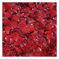 Bridal Red Rose Petals - 30 cups Red Rose Petals. Wedding Petals from Flyboy Naturals.