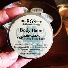 Body Balm made with Steam Distilled Essential oils.