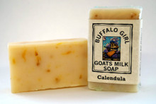 Calendula Goat Milk Soap  by Buffalo Girl Soaps