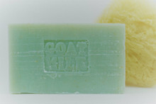"Exfoliating ""Loofalyptus"" Goat Milk Soap"