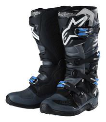 Alpinestars Tech-7 Troy Lee Designs Motocross Boots Grey/Black