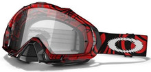 GOGGLE MAYHEM* RED TRIBAL