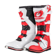 ONeal Rider MX Boots Red/White