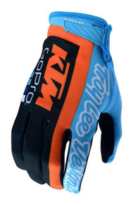 2018 TLD Air Glove KTM Team Navy/Cyan