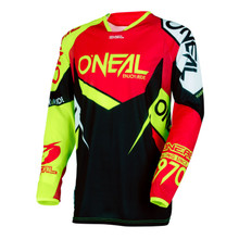 2018 O'Neal Flow True Jersey Red/Hi-Viz