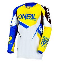 2018 O'Neal Flow True Jersey Blue/Yellow