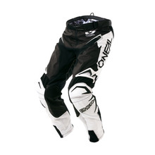 2018 O'Neal Flow True MX Pant Black/White