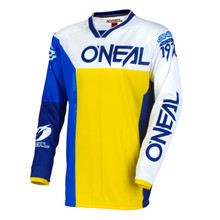 2018 O'Neal Mayhem MX Jersey Split Blue/Yellow