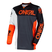 2018 O'Neal Mayhem MX Jersey Split Black/Orange