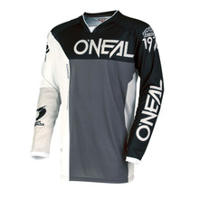 2018 O'Neal Mayhem MX Jersey Split Black/Grey