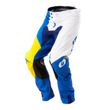 2018 O'Neal Mayhem MX Pants Split Blue/Yellow