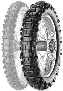 "METZELER MCE 6 DAYS EXTREME Rear 110/80-18"" M/C 58M M+S MINI  ENDURO FIM"