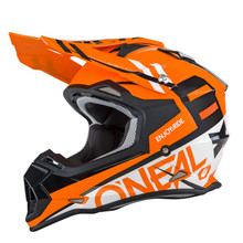 O'Neal 2 Series RL Spyde MX Helmet Orange/White