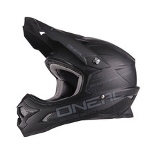 O'Neal 3 Series Flat MX Helmet Black