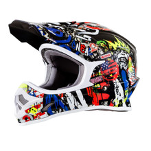 O'Neal 3 Series Rancid MX Helmet Multicoloured