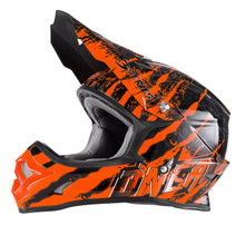 O'Neal 3 Series Mercury MX Helmet Black/Orange