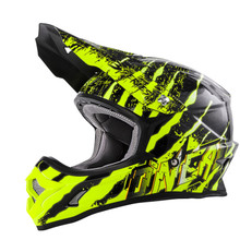 O'Neal 3 Series Mercury MX Helmet Black/Hi-Viz