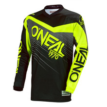 2018 O'Neal Element MX Racewear Jersey Black/Hi-Viz
