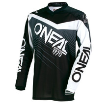 2018 O'Neal Element MX Racewear Jersey Black/Gray