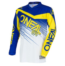 2018 O'Neal Element MX Racewear Jersey Blue/Yellow